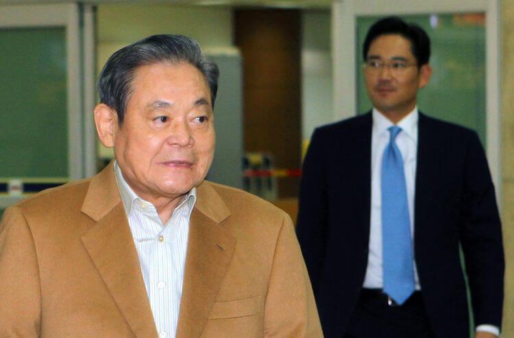 יו״ר סמסונג מדרום קוריאה