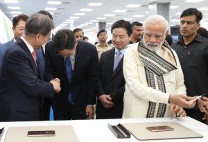 האנשים החשובים בקוריאה, יו״ר סמסונג JY Lee ונשיא קוריאה - Moon Jae-in