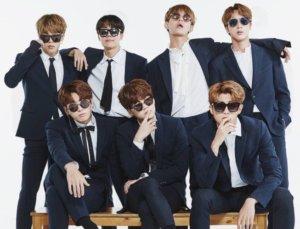 להקת הקיי-פופ BTS מ-דרום קוריאה