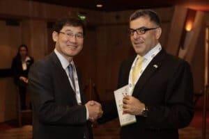 איציק יונה, מנכ״ל יונאקו המתמחה בעסקים עם קוריאה