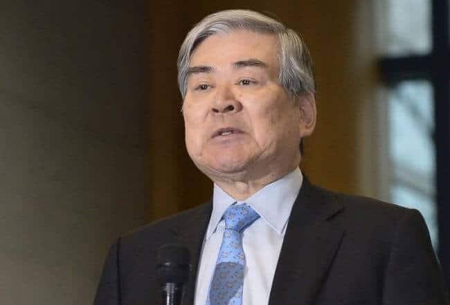 יו״ר הקונגלומרט הדרום קוריאני האנג׳ין והבעלים של קוריאן אייר, צ׳ו יאנג-הו