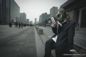 זיהום אוויר חמור בסיאול
