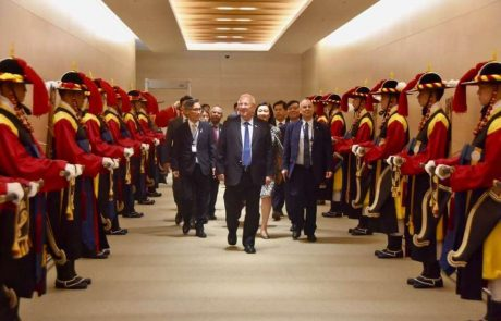 ביקור הנשיא ריבלין בקוריאה – סיכום מצולם