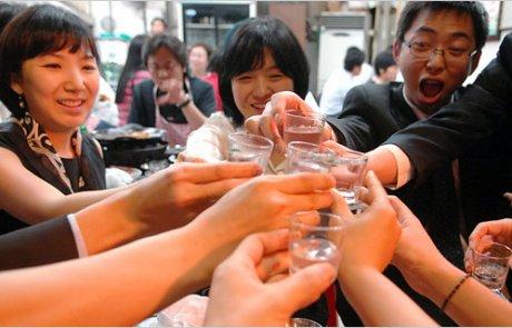 שתיה בקוריאה כדת (על קוריאנים, קוריאניות ואלכוהול)
