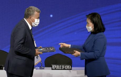 """""""ברית הממזרים"""". נחתם הסכם הסחר עם דרום קוריאה"""